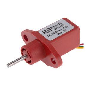 potenziometro rotativo / con plastica conduttrice
