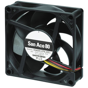 ventola per dispositivi elettronici / assiale / di raffreddamento / ad alta pressione
