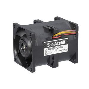 ventola per dispositivi elettronici / assiale / di circolazione di aria / ad alta pressione