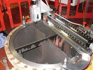 macchina scanalatrice per tubi