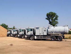 camion di caricamento per aspirazione