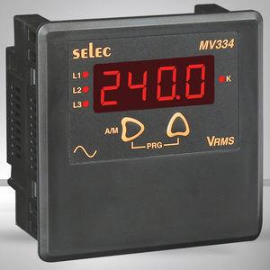 voltmetro digitale / fisso / AC