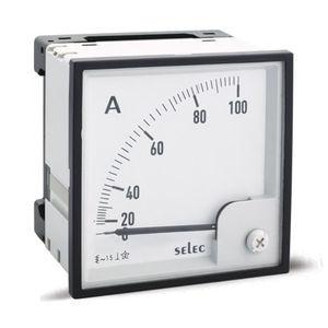 amperometro analogico / montato su pannello