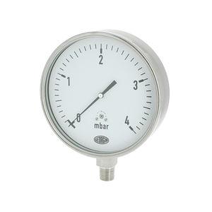 manometro analogico / a capsula / per gas / di processo