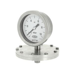 manometro analogico / a membrana / di processo / per gas
