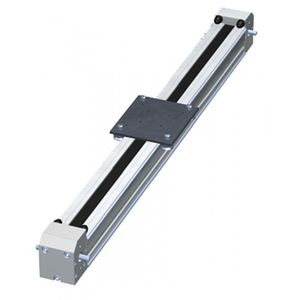 unità lineare con cinghia a tacca / elettrica / per profilati / in alluminio