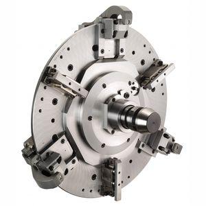 mandrino automatico / a serraggio manuale / 6 ganasce / a ricambio rapido