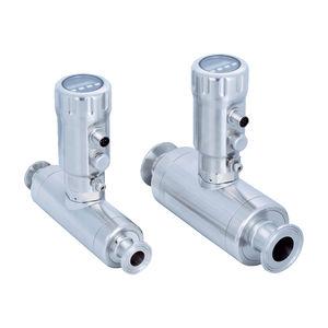 misuratore di portata ad ultrasuoni / per acqua / per olio / compatto