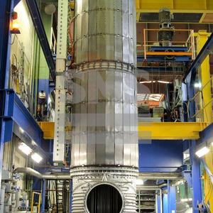 evaporatore per distillazione molecolare / sottovuoto / termico / a film sottile