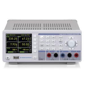 analizzatore per rete elettrica / di potenza / benchtop / compatto