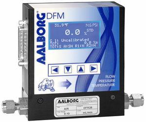 misuratore di portata termico / massico / per gas / programmabile