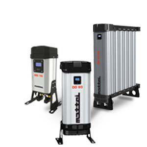 essiccatore per aria compressa con adsorbimento senza calore