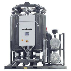 essiccatore per aria compressa ad adsorbimento con calore / calore esterno