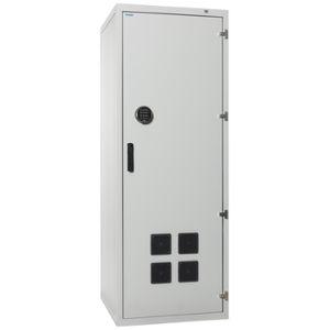 armadio di stoccaggio / di sicurezza / a pavimento / rack 19