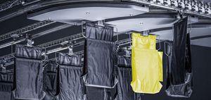 trasportatore per l'industria automobilistica / per alimenti / a gravità / per carichi pesanti