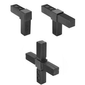 connettore per tubi quadrato / in poliammide / in acciaio / in acciaio inossidabile