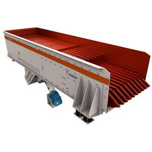 alimentatore grizzly / a vibrazione / a moto continuo / per nastro trasportatore