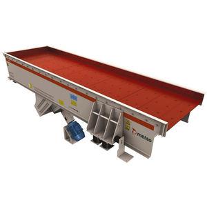 alimentatore a vibrazione / a moto continuo / per nastro trasportatore