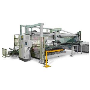 sistema di carico e scarico per lamiera metallica