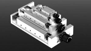 piastra di posizionamento lineare / manuale / 1 asse / standard