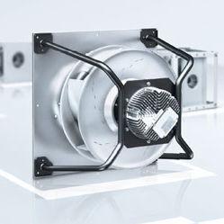 ventilatore centrifugo / di circolazione di aria / ad alte prestazioni / con rotore esterno