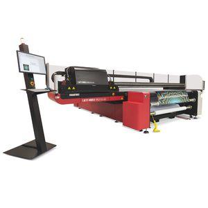 macchina da stampa a base piana / a 6 colori / per carta / per legno