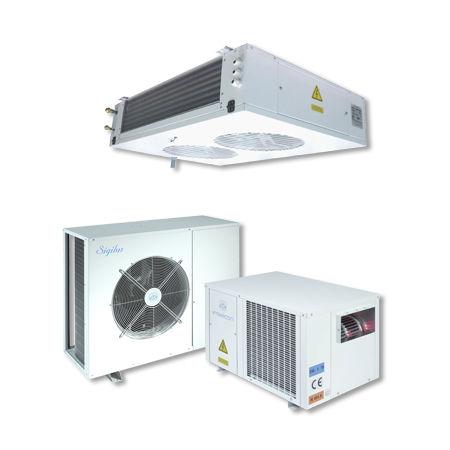 gruppo frigorifero stazionario / per alta temperatura