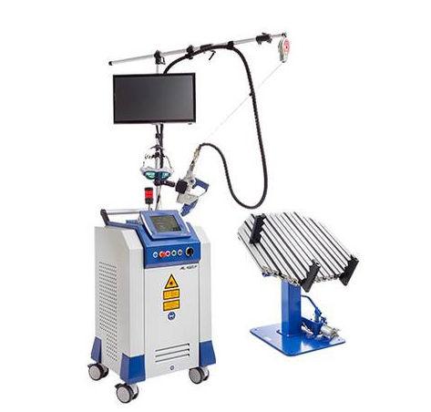 macchina saldatrice laser a fibra / AC / manuale / integrata