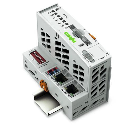 PLC per controller / compatto / integrato / su guida DIN