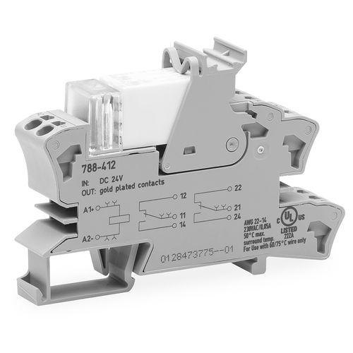 zoccolo per relè elettromeccanico / in miniatura