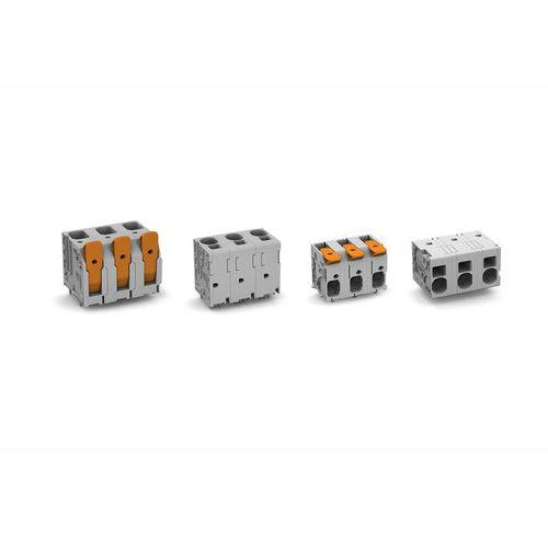 morsetto componibile per PCB / push-in / di potenza / compatto