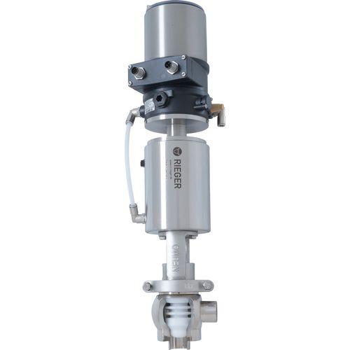 valvola modulanti / manuale / pneumatica / a regolazione di portata