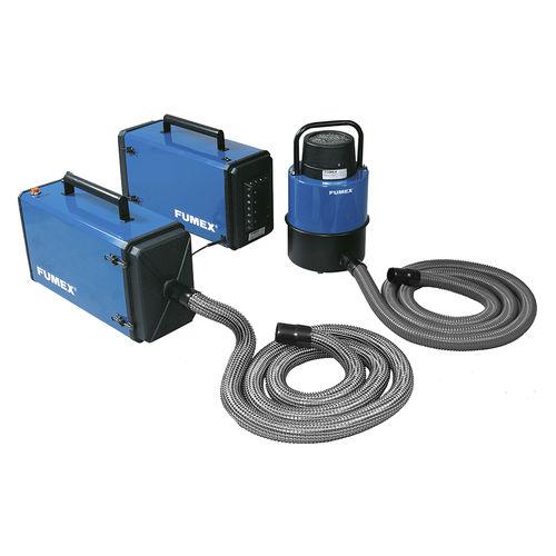 aspiratore di fumo mobile / ad uso industriale / di saldatura / con filtro secco