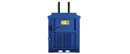 pressa imballatrice verticale / a carico frontale / di rifiuti solidi / automatica