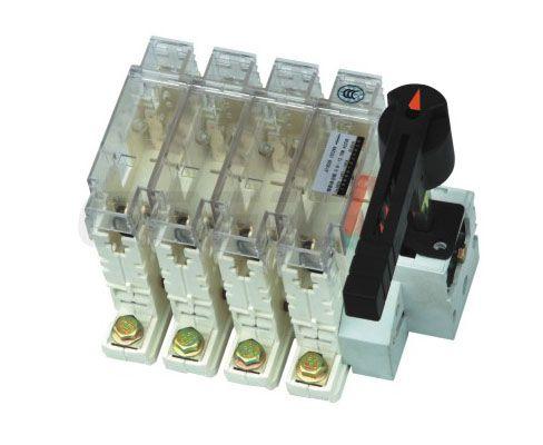 interruttore-sezionatore a fusibile / a bassa tensione