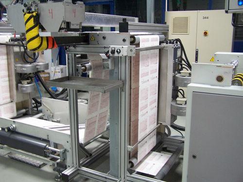 macchina da stampa a getto d'inchiostro / multicolore / per carta / in linea