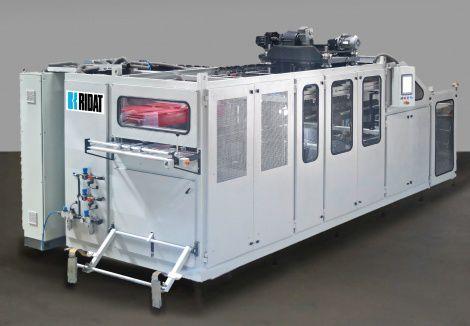 termoformatrice alimentata a rullo / per imballaggio di prodotti alimentari / per produzione di bicchieri / automatica