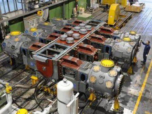 compressore a pistone / di gas naturale / fisso / con motore elettrico