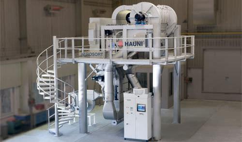 macchina di smistamento rotativa
