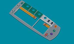 tastiera ad incastro / con sistema di puntamento / a membrana / industriale