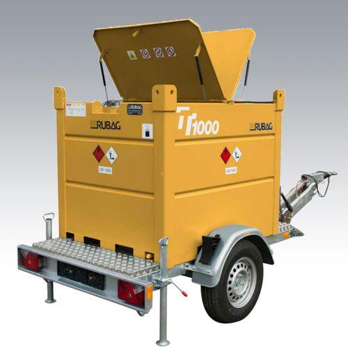 serbatoio da trasporto / di carburante / in acciaio al carbonio / rimorchiabile