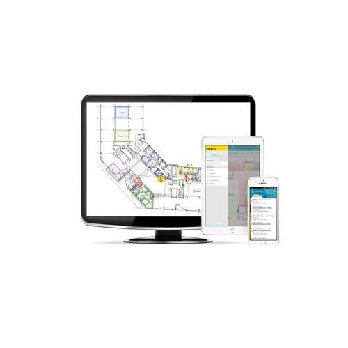 software di gestione di asset / di gestione di controllo accessi e sicurezza / di gestione delle operations / di analisi di dati