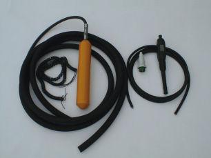 vibratore ad immersione vibatore interno elettrico per calcestruzzo