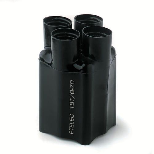 cappuccio termoretraibile / press-fit / tondo / in poliolefina