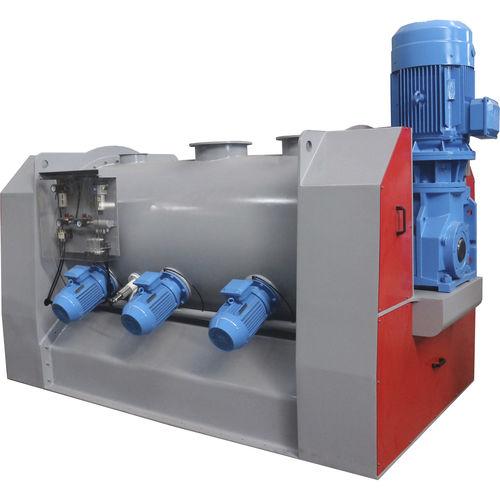 miscelatore a vomere / discontinuo / liquido/solido / per polvere