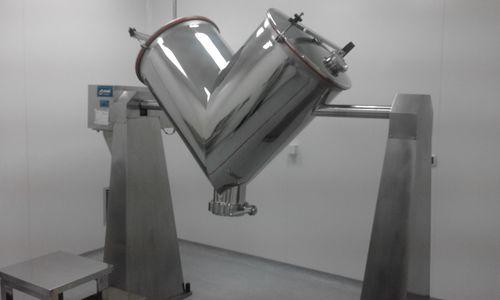 miscelatore dinamico / per polvere / per l'industria agroalimentare / per l'industria chimica