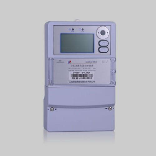 contatore di energia elettrica trifase / a muro / con display LCD / RS-485