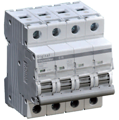 interruttore automatico magnetotermici / contro i cortocircuiti / AC / 4 poli