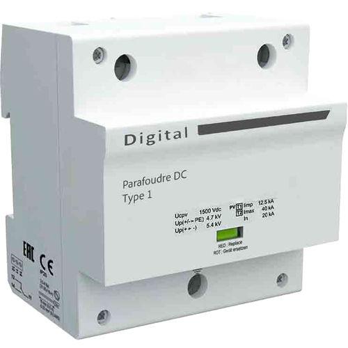 limitatore di sovratensione di tipo 1 / multipolare / su guida DIN / DC