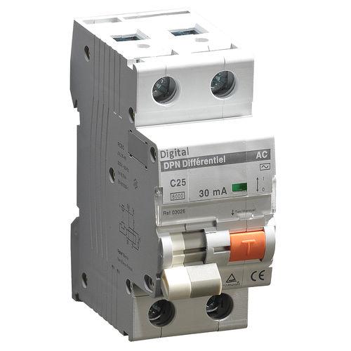 interruttore differenziale differenziale / magnetotermici / AC / su guida DIN